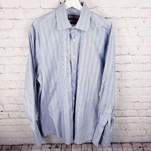 Vineyard Vines Striped Cuff Link Button Down Shirt